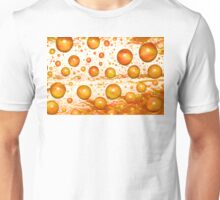 Redleaf Water Droplets Unisex T-Shirt