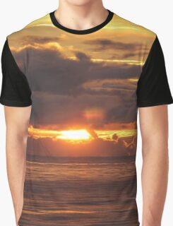 Sunset at Sea Graphic T-Shirt