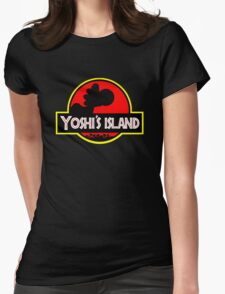 Yoshi's Island Womens Fitted T-Shirt