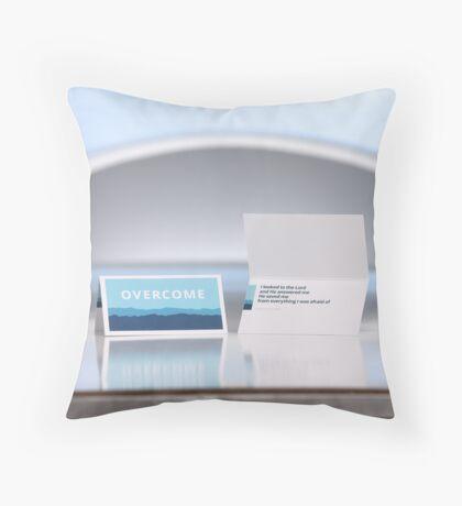 Overcome Throw Pillow