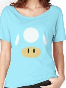 1Up & Mega Mushroom! Women's Relaxed Fit T-Shirt