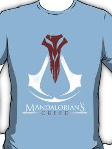 Mandalorian's Creed (black) T-Shirt
