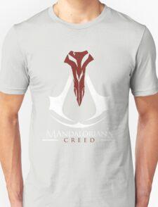 Mandalorian's Creed (black) Unisex T-Shirt
