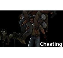 counter strike global offensive cheating Photographic Print