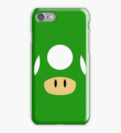 1Up & Mega Mushroom! iPhone Case/Skin