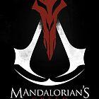 Mandalorian's Creed (black) by juanotron