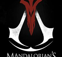 Mandalorian's Creed (black) by juanotron