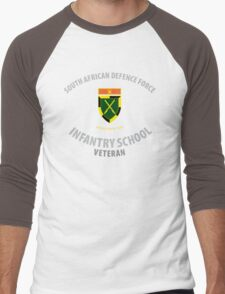 SADF Infantry School (Command Formation Bar) Veteran Men's Baseball ¾ T-Shirt