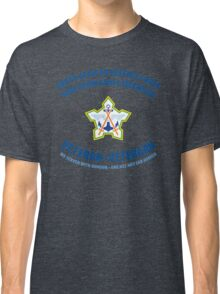 South African Defence Force Veteran (Blue Text) Classic T-Shirt