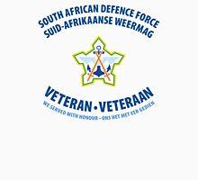 South African Defence Force Veteran (Blue Text) Men's Baseball ¾ T-Shirt
