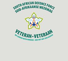South African Defence Force Veteran (Green Text) T-Shirt