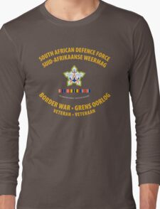 South African Defence Force Border War Veteran Long Sleeve T-Shirt