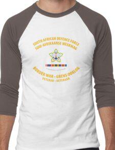 South African Defence Force Border War Veteran Men's Baseball ¾ T-Shirt