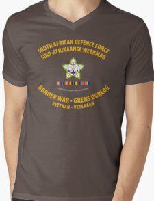 South African Defence Force Border War Veteran Mens V-Neck T-Shirt