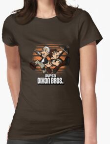 Super Dixon Bros. Womens Fitted T-Shirt
