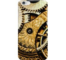 Gears and Age (color version) iPhone Case/Skin