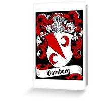 Bamberg Greeting Card