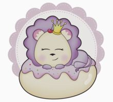 Lolly Lion is doughnut sleeping. Kids Clothes