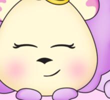 Lolly Lion is doughnut sleeping. Sticker