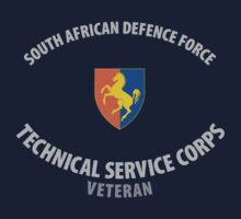 SADF Technical Service Corps Veteran Shirt by civvies4vets