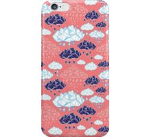 abstract pattern of clouds  iPhone Case/Skin