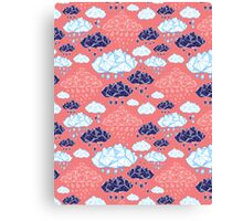 abstract pattern of clouds  Canvas Print