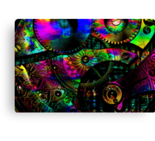 Gears of Mind (1) Canvas Print