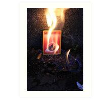 Fire Energy Art Print