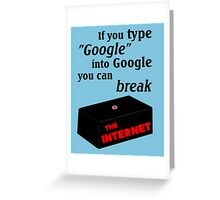 IT Crowd - Google The Internet Greeting Card