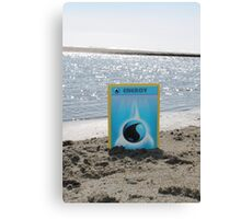 pokemon water energy Canvas Print