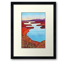 Perfect Pastels - Morning Colours Framed Print