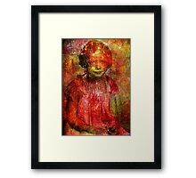I hate the other children Framed Print