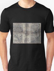 Civil War Maps 1907 War maps and diagrams 02 Unisex T-Shirt