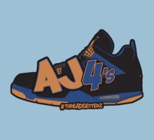 AJ 4's CAVS Edition Kids Clothes