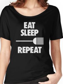 Eat, Sleep, Sweep, Repeat Women's Relaxed Fit T-Shirt