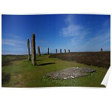 Orkney stones Poster