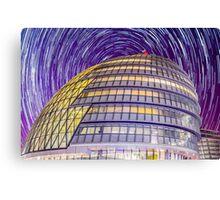 City Hall StarTrail Canvas Print