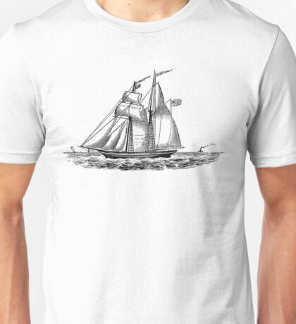 Victorian Era Ship - 5 Unisex T-Shirt