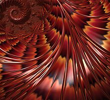 Tortoiseshell Abstract by John Edwards