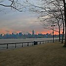 View From Pier A Hoboken by pmarella