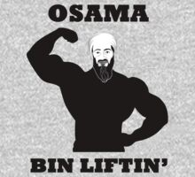 OSAMA BIN LIFTIN GYM MUSCLE TOP by BelfastBoy