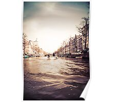 Amstel River Afternoon  Poster