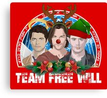 Deck the Halls with TFW Canvas Print