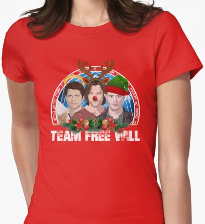 Deck the Halls with TFW Womens Fitted T-Shirt