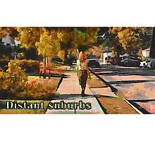 Distant suburbs Photographic Print