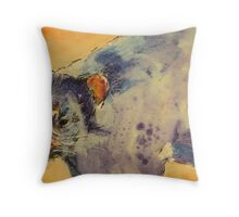 Little Tassie devil Throw Pillow