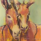 Donkey couple by christine purtle