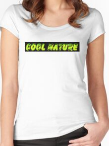 cool nature Women's Fitted Scoop T-Shirt