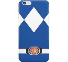 MMPR Blue Ranger Phone Case iPhone Case/Skin