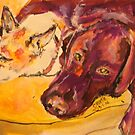 Best friends by christine purtle